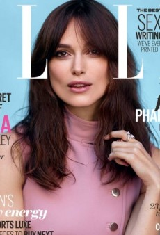 Keira Knightley's 'Librarian Hair' Ruins UK Elle's July Cover (Forum Buzz)
