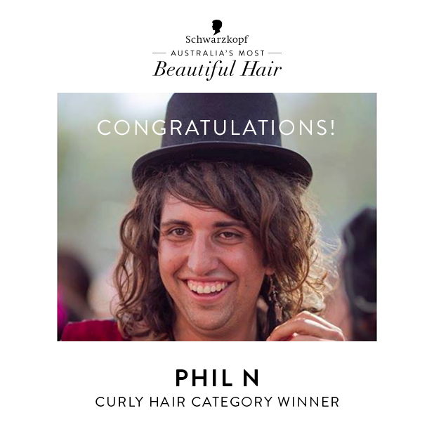 Phil Schwarzkoph Australia's Most Beautiful Hair