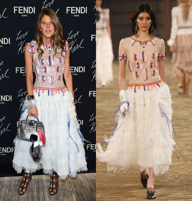 Anna Dello Russo Chanel Pre-Fall 2014
