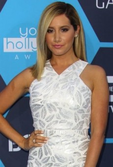 Ashley Tisdale Wears a $64 VLabel London Dress