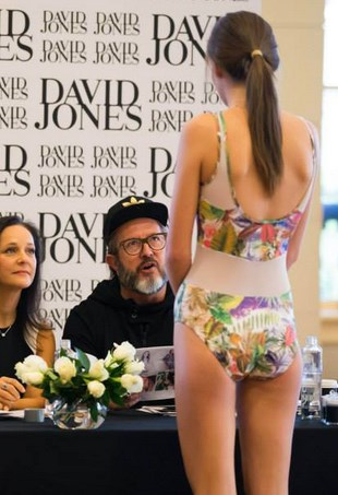 David Jones SS14 Launch Casting