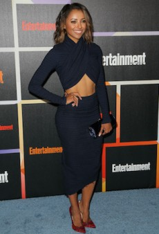 Kat Graham Rocks a Navy Bec & Bridge Ensemble