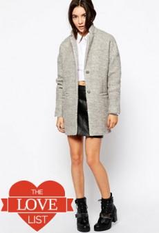 The Love List: Stylish Staple Winter Coats Under $100