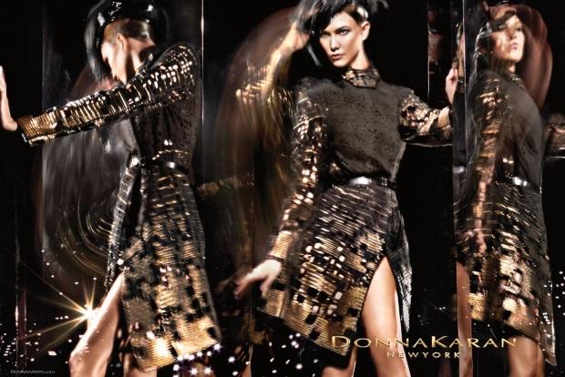Ad Campaign Donna Karan Fall 2014 Karlie Kloss