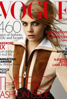 Cara Delevingne Looks Like a 'Luxury Zombie' for Vogue UK September 2014 (Forum Buzz)