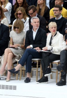 Baz Luhrmann Sits Front Row with Anna Wintour at Chanel Couture