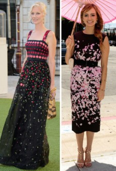 Celebrities Embrace the Darker Side of Summer in Moody Florals