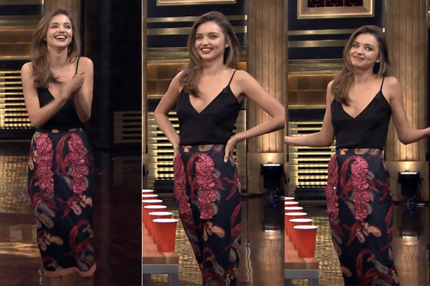 Miranda Kerr Jimmy Fallon