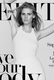 Lara Stone is 'Amazing As Always' Showing Off Her Curves for The Edit (Forum Buzz)