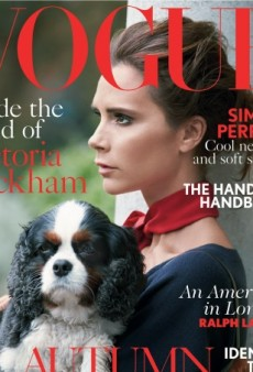 Double Deluxe: Victoria Beckham is UK Vogue's August Cover Subject (Forum Buzz)