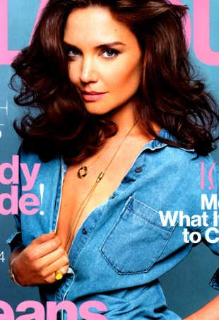 Katie Holmes Goes Topless For Glamours August Issue Forum Buzz