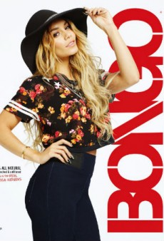 An Unretouched Vanessa Hudgens Fronts Bongo's Fall 2014 Campaign