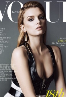 Karen, Candice, Lily, Anja and Joan Land Covers for Vogue Korea's August Issue (Forum Buzz)