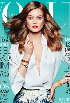 Vogue Mexico Gives Monika Jagaciak Her First Solo Vogue Cover (Forum Buzz)