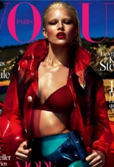 Anna Ewers Scores First Vogue Paris Cover by Mert Alas and Marcus Piggott (Forum Buzz)