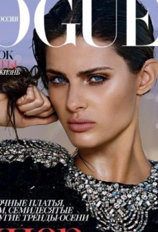 Terry Tsiolis Photographs Isabeli Fontana for Vogue Russia (Forum Buzz)