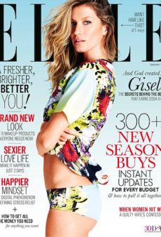 Gisele Bündchen is ELLE Australia's September Cover Girl