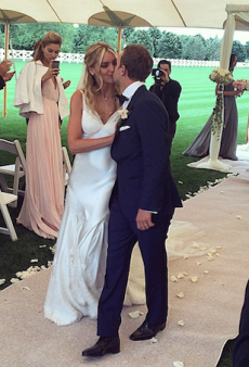 Elyse Taylor and Seth Campbell Tie the Knot in Hamptons Ceremony
