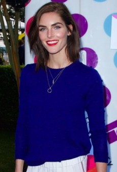 Hilary Rhoda Parties for a Good Cause in Lisa Perry