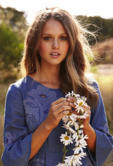 Isabelle Cornish Has Been Crowned Alice McCall's Spring Muse and We're Not Surprised