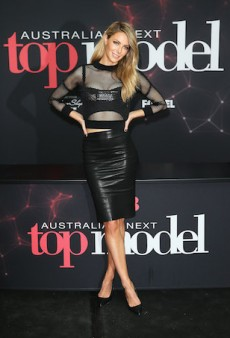 Jennifer Hawkins in Toni Maticevski for Australia's Next Top Model Cycle 9 Auditions