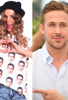 You Can Now Show Your Love for Ryan Gosling in T-Shirt Form