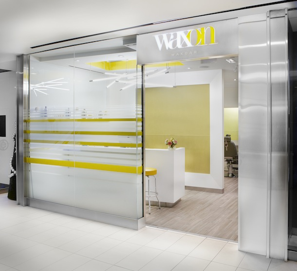 The new WAXON WAXBAR in Toronto's PATH.