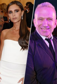 Who Did the #IceBucketChallenge Better? Victoria Beckham vs. Jean Paul Gaultier