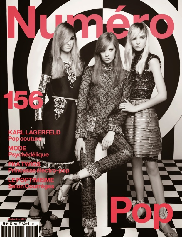 Numero September 2014 Karl Lagerfeld