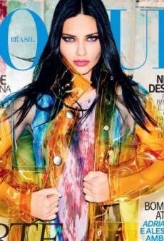 Adriana Lima Wears Miu Miu on Vogue Brazil's September Cover (Forum Buzz)