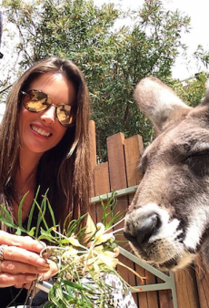 Alessandra Ambrosio Touches Down in Sydney for Australia's Next Top Model
