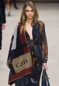 Blanket Coats Inspired by the Celeb Favorite Burberry Prorsum Monogrammed Poncho