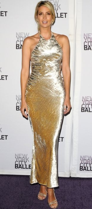 Ivanka Trump in Reem Acra at New York Ballet Fall Gala
