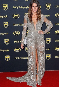NRL WAGs Shine in Couture at the 2014 Dally M Awards