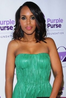 Kerry Washington Colorfully Clashes in Alexander McQueen