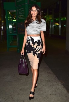 Nicole Trunfio Rocks Clashing Scanlan Theodore for TIFF 2014