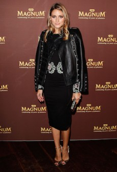 Olivia Palermo Steps out in Rachel Gilbert for Magnum's 25th Anniversary