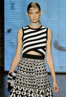 Spring 2015 Fashion Trend: Black and White