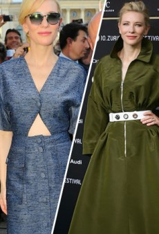 Cate Blanchett Steps Out in Stella McCartney, Christian Dior Couture for 2014 Zurich Film Festival