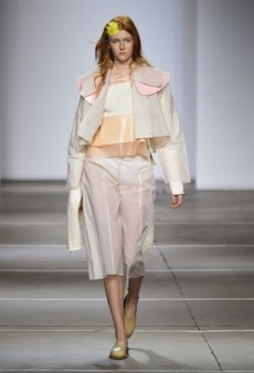Fashion East Spring 2015 Runway