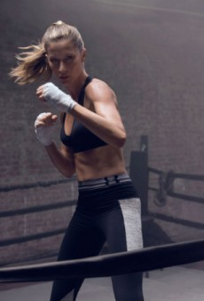 Watch: Gisele Bündchen Kickboxes in Spite of the Haters for Under Armour