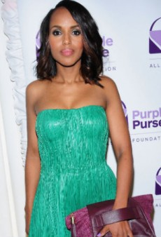 Kerry Washington on Designing for Allstate's Purple Purse Project, Domestic Abuse and More
