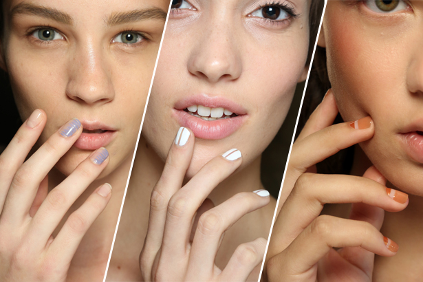Prabal Gurung, Nonoo, Creatures of Comfort Spring 2015 nails