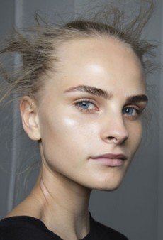 Backstage at NYFW: Transparent Makeup and Flyaway Knots at 3.1 Phillip Lim