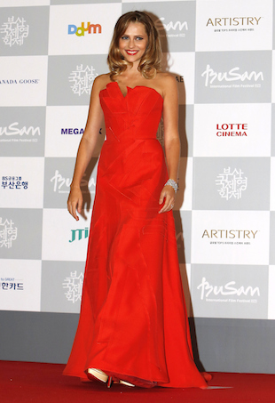 Teresa Palmer Carolina Herrera