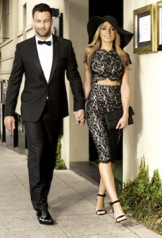 Jimmy and Nadia Bartel are the Hottest Couple Ever in The Iconic's 2014 Spring Racing Campaign