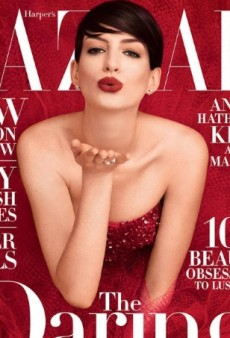 Daring or Dated? Anne Hathaway Is Harper's Bazaar's November Cover Girl (Forum Buzz)
