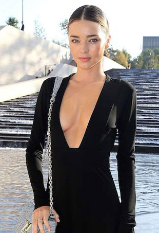Red Carpet Trend Plunging Necklines TheFashionSpot