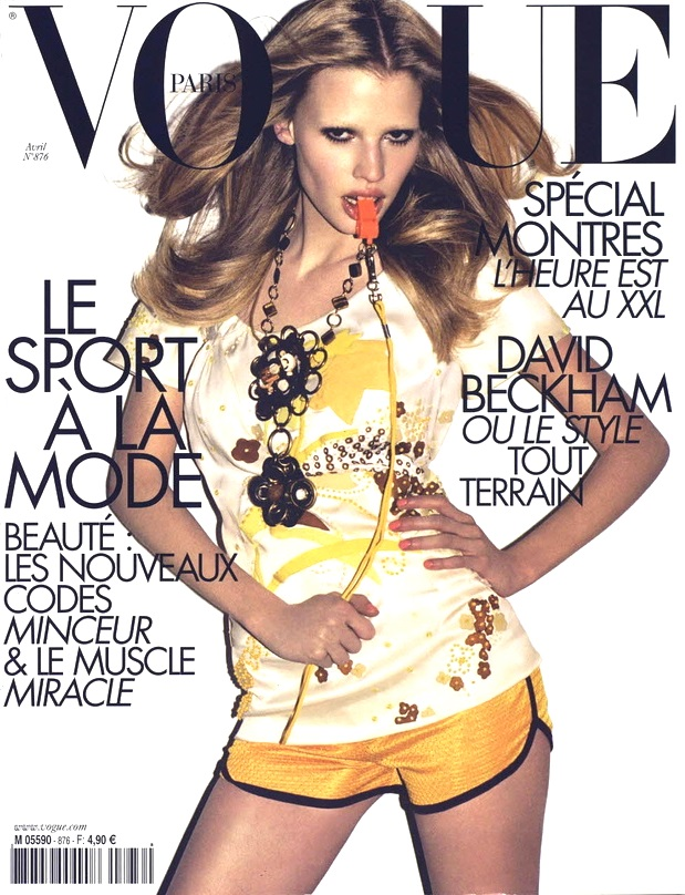 Flashback Vogue Paris April 2007 Lara Stone Terry Richardson
