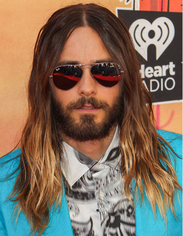 Jared Leto and 15 Other Celebrity Men with Great Hair - theFashionSpot
